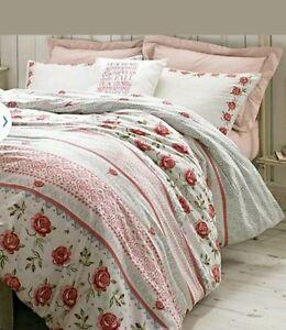 rose and bee bedding by designer emma bridgewater double. Black Bedroom Furniture Sets. Home Design Ideas