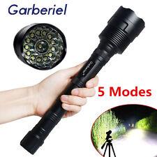 Garberiel 80000LM 14x T6 LED 5Mode 18650 Led Flashlight Super Bright Torch Light