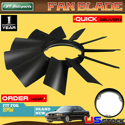 Radiator Fan Blade for BMW E31 E32 E34 E38 E39 530i 540i 730i 740i 840Ci 850Ci