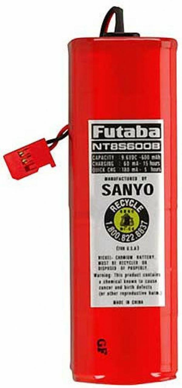 Futaba Batería FNT8S600B 9,6v 600mAh