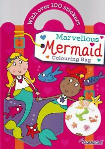 Mermaid-Colouring-Sticker-Book-A4-Paperback-for-Children-3