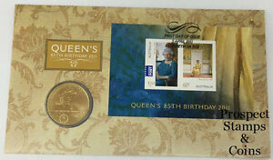 2011-Her-Majesty-Queen-Elizabeth-II-85th-Birthday-Stamp-and-Coin-Cover-PNC