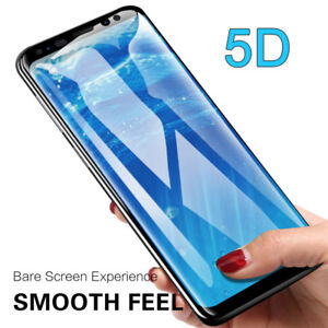 For-Samsung-Galaxy-S9-S10-Curved-Full-Tempered-Glass-Film-Screen-Protector-5D