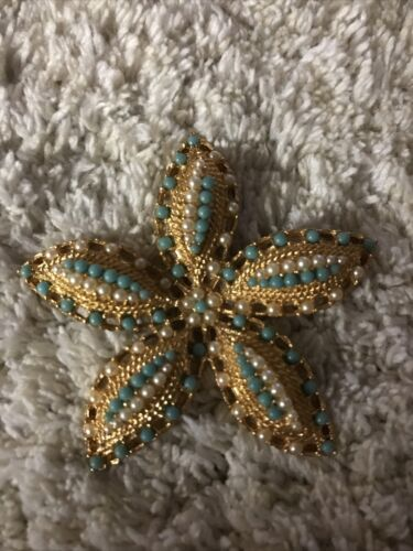 Sarah Coventry Ocean Star Ring 1968