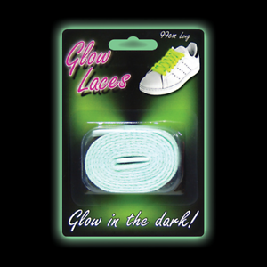 stocking filler children/'s shoes gift 214 Green Glow in the Dark Laces 99 cm