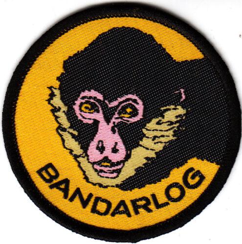 Boy Scout Cub Leader Badge BANDARLOG