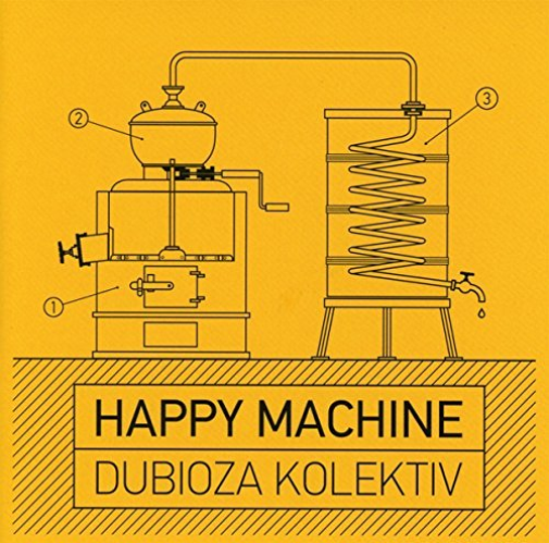 Dubioza Kolektiv-Happy Machine  CD NEW
