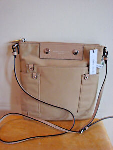 6b7bdcf6d6a3 Image is loading Marc-Jacobs-Preppy-Nylon-Sia-Crossbody-Purse-SANDSTONE-