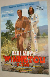 A1,Filmplakat , WINNETOU TEIL 2. ,Pierre Brice, Lex Barker,KARL MAY