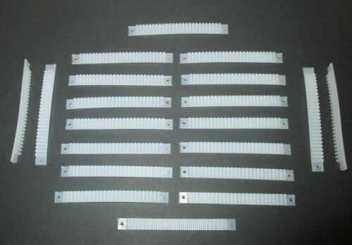 Litzenhalter 20 Stück mit je 25 Klemmen für Litzen 0,14mm²   *NEU* Stck 40 ct
