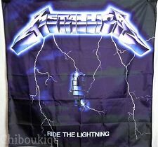 METALLICA Ride The Lightning HUGE 4X4 BANNER poster tapestry cd album covert art