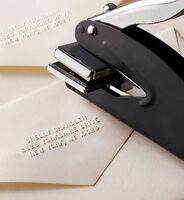 Personalized Name And Address Seal Embosser Handheld