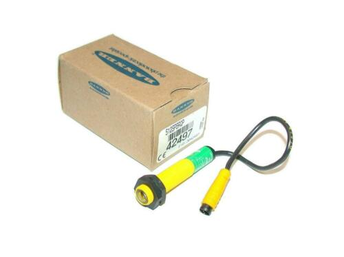 New Banner  42497  S12SP6RQP  Photoelectric Receiver Sensor 10-30 VDC