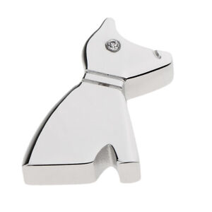 Stainless-Steel-Puppy-Shape-Small-Pendant-Cremation-Keepsake-Memorial-Urn