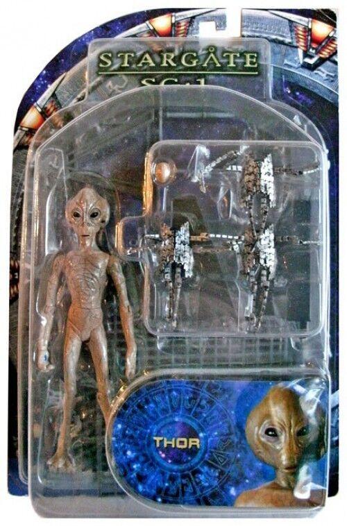 Stargate sg - 1 - serie 2. kommandant thor action - figur