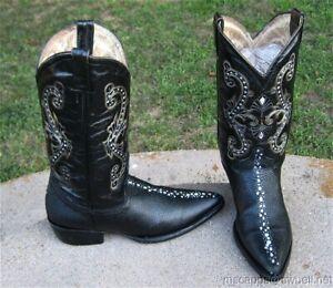Cowboy Western Boots Mens 7 D Ebay