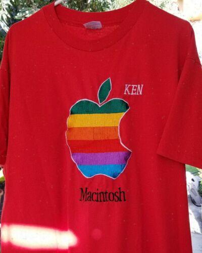 Vintage Apple Macintosh shirt