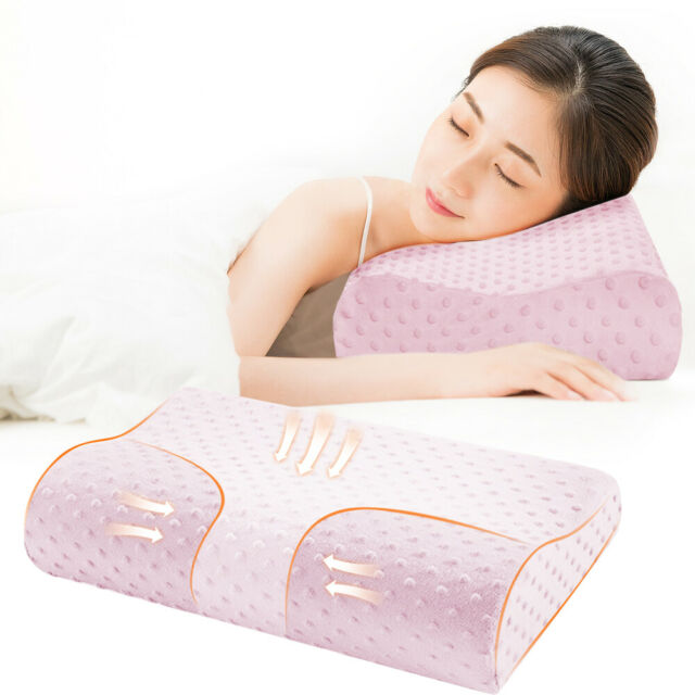 New Large Memory Foam Contour Pillow Neck Head Support Orthopaedic High Quality