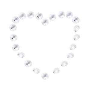 20-PCS-Clear-Crystal-Glass-Chandelier-Part-Prisms-Octagonal-Beads-Decor-14MM-3C