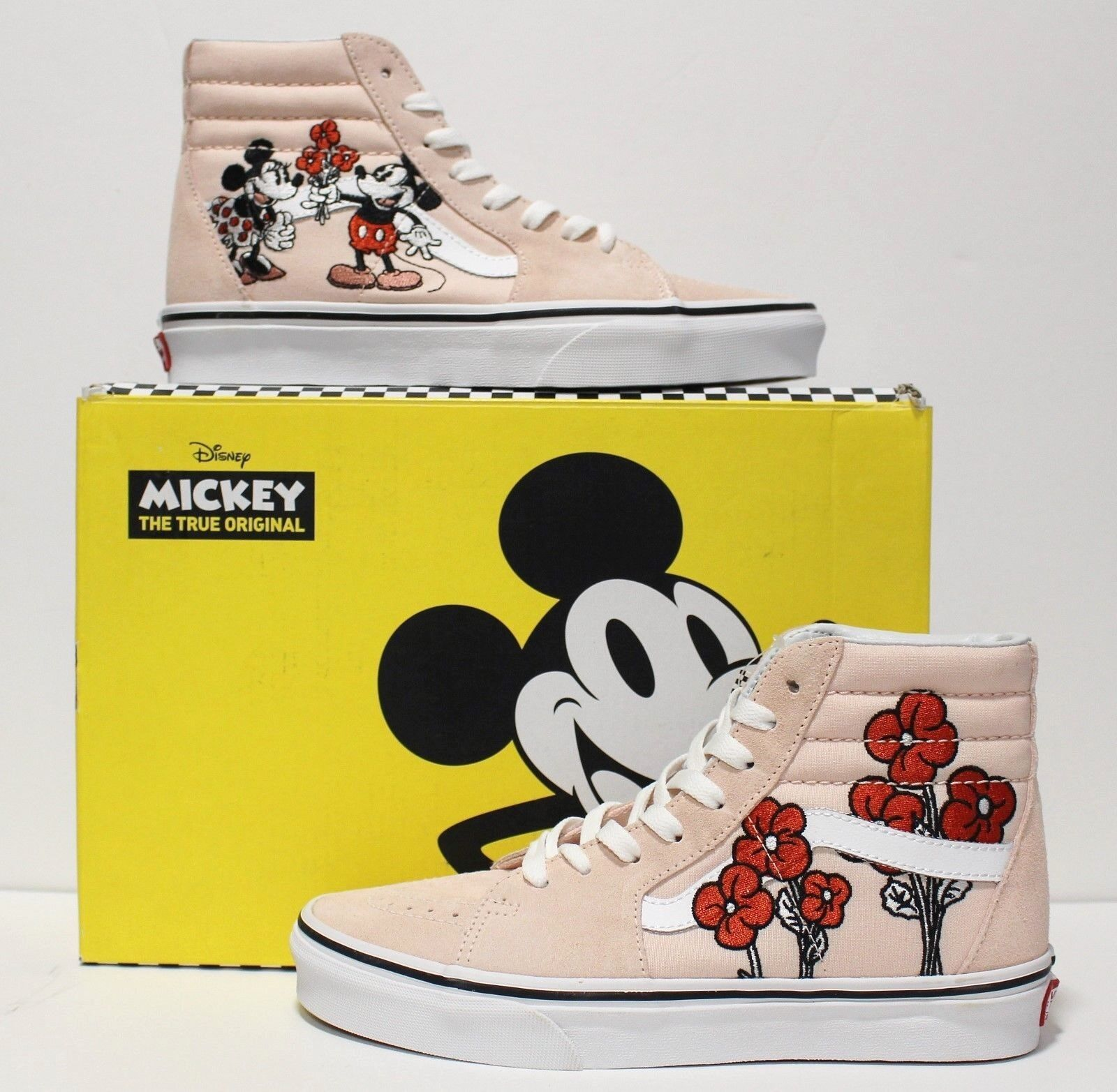 Vans X Disney SK8 Hi Mickey & & & Minnie Women's Size  11 (UK 8.5) (EUR 42.5) 5a4e43