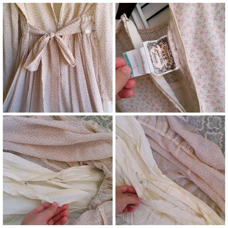 ASIS RARE vintage GUNNE SAX floral  Prairie dress… - image 10
