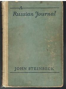 A-Russian-Journal-by-John-Steinbeck-1948-1st-Ed-Rare-Vintage-Book