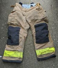 Sperian Firefighter 4028 Pants Bunker Turnout Gear Morning Pride Suspenders