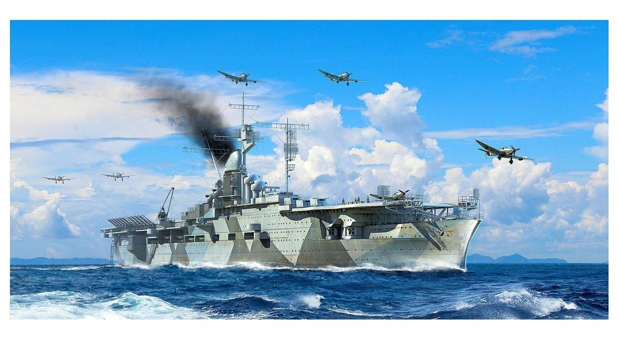 Trumpeter 1 700 Germany Navy Air Craft Carrier Graf Zeppelin Model Kit 06709
