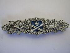 Wehrmacht  Nahkampfspange Silber 1957er  Anstecker Heer WSS Miniatur Spange WKII