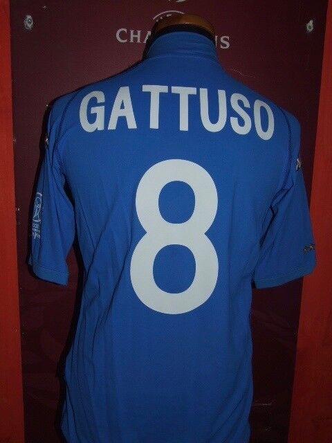 GATTUSO WC 2002 ITALY ITALIA MAGLIA SHIRT CALCIO SOCCER FOOTBALL JERSEY CAMISETA
