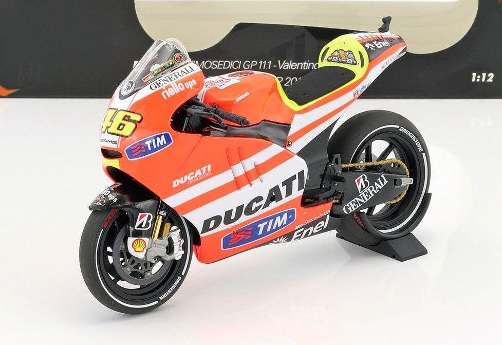 Ducati Valentino Rossi Rossi Motogp 2011 en 1 12 Echelle par Minichamps