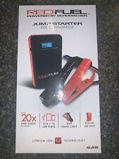 Schumacher SL65 Red Fuel 8,000mAh Lithium Power Jump Starter and Portable Mobile Power by Schumacher