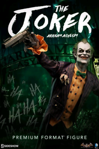 DC Sideshow Collectibles Batman Arkham Asylum Joker Premium Format 1 4 Estatua