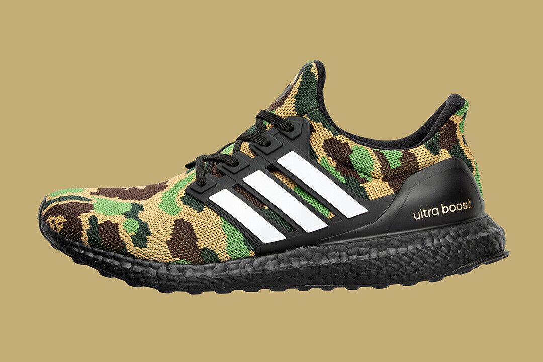 19880 adidas x bape football ultraboost bape green US9