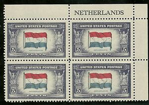 913-PB-1943-NETHERLANDS-OVERRUN-COUNTRIES-ISSUE-MKINT-OG-NH