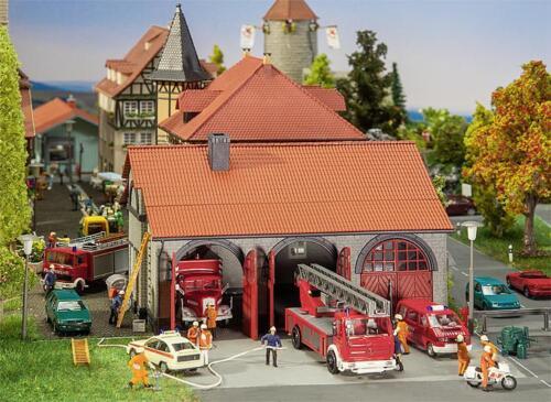 Faller 130162 H0 Feuerwehrgerätehaus NEU /& OvP