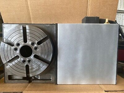"HAAS HRT-210 BRUSH Rotary Table /& 8/"" 3-JAW Chuck ***60 DAYS WARRANTY***"