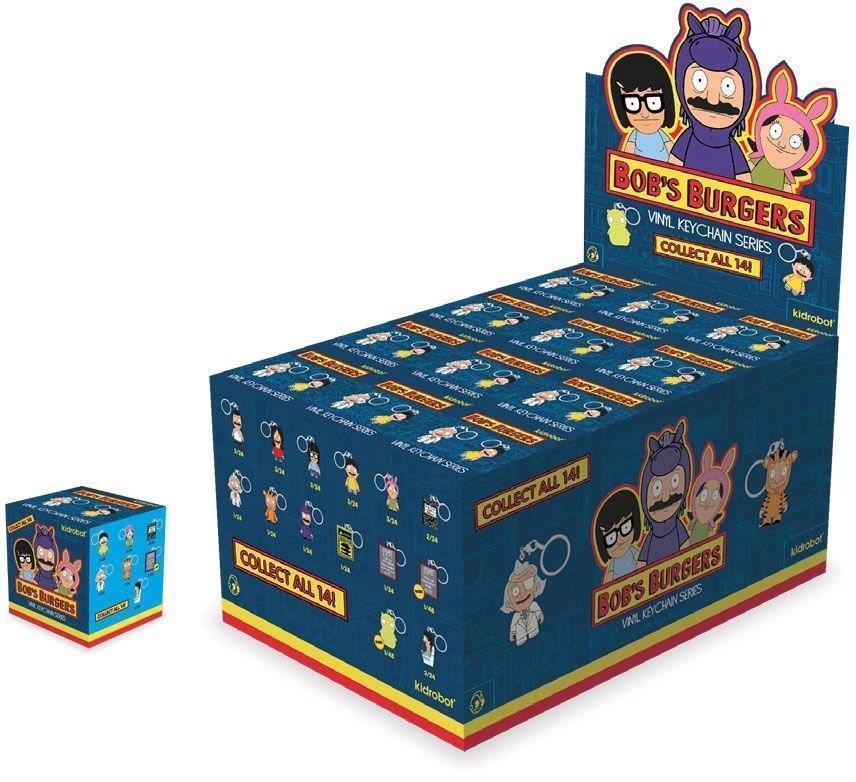 Bob's Burgers un intero caso di 24 cifra in vinile Cie  scatola Porta avi da KIDROBOT