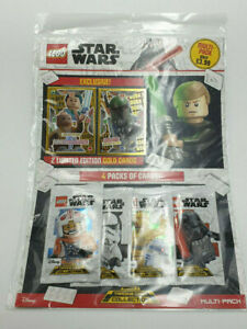LEGO-STAR-WARS-TRADING-CARD-COLLECTION-MULTIPACK-SERIES-2-4-PKTS-2-LTD-ED