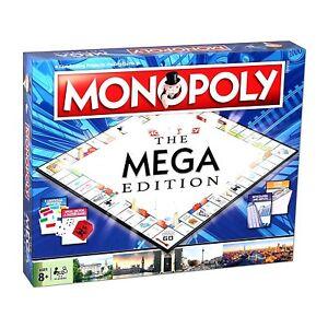 Monopoly The Mega Edicion Juego De Mesa Nuevo Y Sellado Ebay