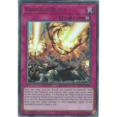 Yugioh Barrage Blast LED4-EN038 Ultra Rare 1st Edition