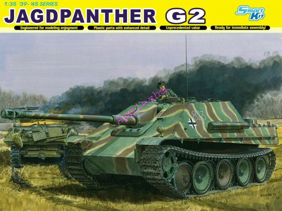 DRAGON 6609 1 1 1 35 Jagdpanther G2 TANK MODEL KIT 2019 NEW ba7