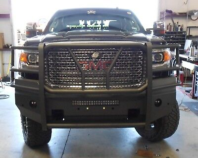 Gmc Elevation 2017 >> New Ranch Style Smooth Front Bumper 2015 2016 2017 2018 ...