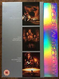 The-Mummy-DVD-Box-Set-1-2-Returns-Scorpion-King-Action-Adventure-Triple-Bill