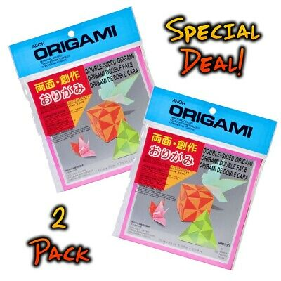 Aitoh Origami Paper Riggsbee Design 6 in x 6 in 20 Sheets