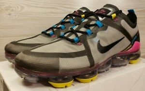 usa cheap sale stable quality best selling Details about Nike Air VaporMax 2019 Grey Black Blue Yellow Pink Running  CI9891-200 Pick Size