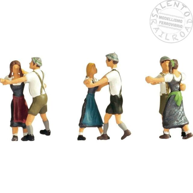 NOCH 15857 SET CHARACTERS: people che dancing - 1/87