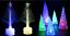 arbol-de-Navidad-Brillo-Luz-Conos-Arboles-Regalo-Adorno-Decoracion-papa-noel
