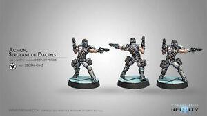 Infinity Alpeh BNIB Acmon, Sergeant of Dactyls (2 Breaker Pistols) 280846