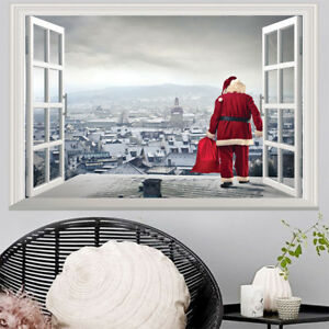Image Is Loading Fake Window Wall Stickers Removable Faux Windows